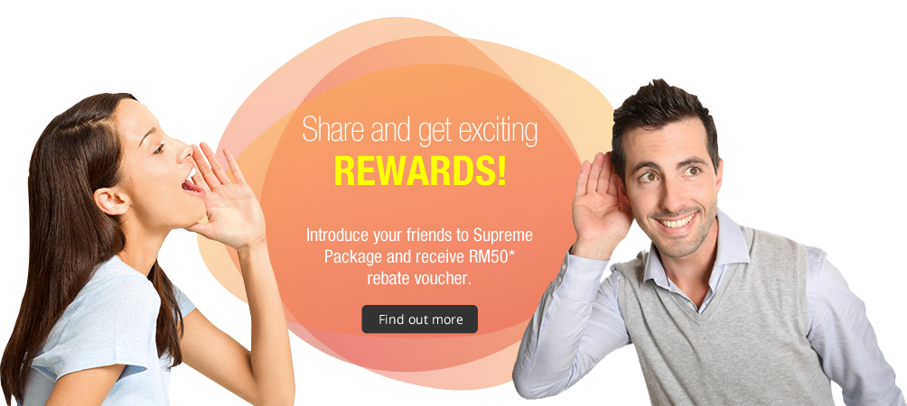 Share and get exciting rewards!
